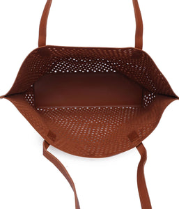 The Ultimate Cutwork Handbag-Brown