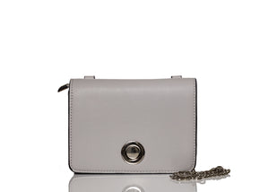 Pastel Metal Chic Bag - Grey