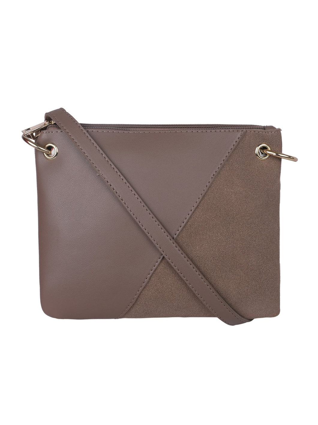Double Bag Sling-Brown