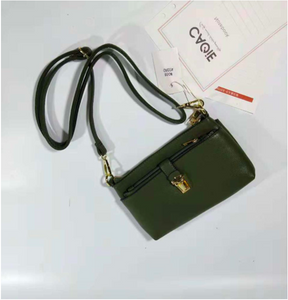 Mini Buckle Queen Sling- Green