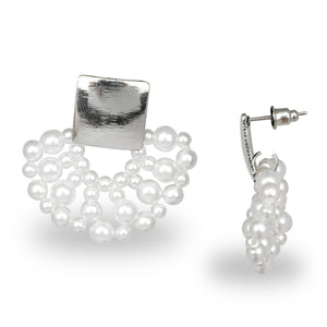 DESIGNER PEARL LACE PARTY EARRINGS LIMITED EDITION