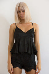 Shop for Silky Babydoll in Black in Tops in  from Wardrobelust online australian fashion boutique - 2