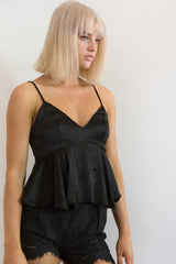 Shop for Silky Babydoll in Black in Tops in  from Wardrobelust online australian fashion boutique - 3