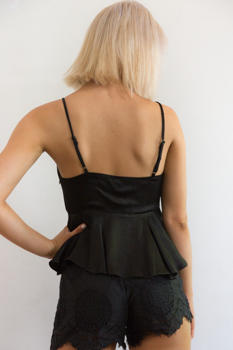 Shop for Silky Babydoll in Black in Tops in  from Wardrobelust online australian fashion boutique - 5