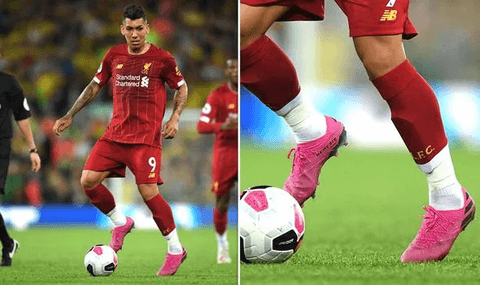 Pro footballer with socks cut - Grassroots Sports Group