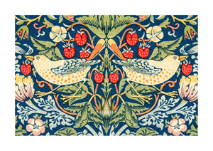 The strawberry thieves pattern | William Morris