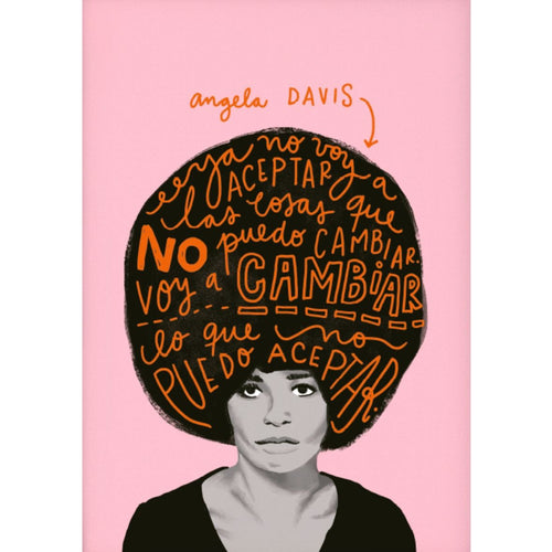 Angela Davis by Vik Arrieta