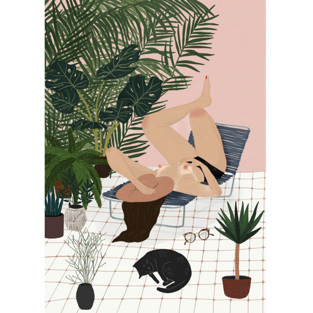 Sun salutations by Chloe Joyce