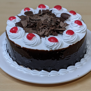 Black and White Forest Cake  TrueCakes