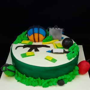 Pubg Game Theme Cake  TrueCakes