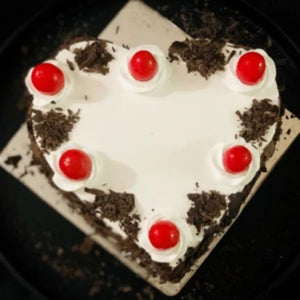 Black Forest Heart Cake  TrueCakes