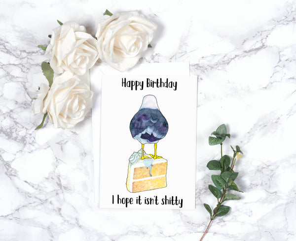 Funny Birthday Card Boyfriend Birthday Boyfriend Gift Gift For Him Best Friend Gift Rude Birthday Card Cute Birthday Card Friend Watercolor