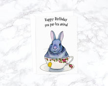 Load image into Gallery viewer, Happy Birthday You Par-Tea Animal