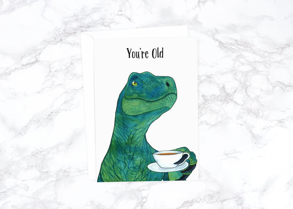 Funny Birthday Card Funny Boyfriend Birthday Animal Birthday Card Old Cute Birthday Card Friend Watercolor Birthday Card Rude Birthday Card