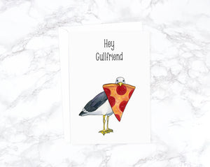 Funny Anniversary Card For Girlfriend, Funny Birthday Card Friend, Best Friend Card, I Love You Card, Birthday Cards For Her, Pizza Card