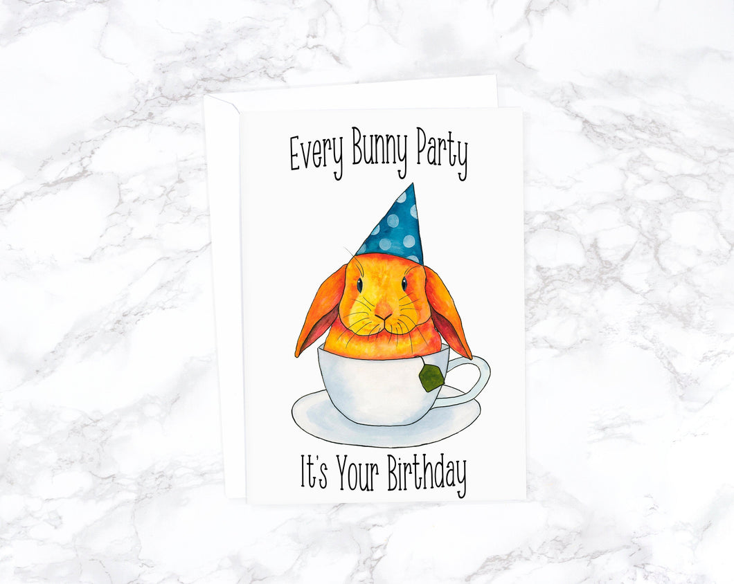 Every Bunny Party It's Your Birthday