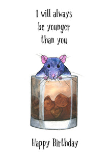 I Will Always Be Younger Than You