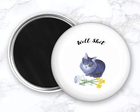 Funny Cat Magents Fridge, Cat Fridge Magnet, Refrigerator Magnets, Cat Kitchen Magnet, Funny Kitchen Magnets, Cat Lover Gift