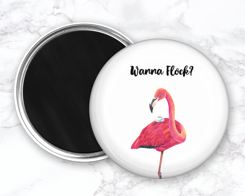 Flamingo Magnet, Funny Bird Magnet, Refrigerator Magnets, Funny Kitchen Magnets, Funny Fridge Magent, Funny Coffee Magnet, Funny Tea Magnet