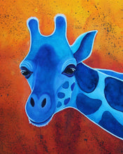 Load image into Gallery viewer, Blue Giraffe