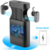Wireless Earbuds With 5000mAh Charging Case As Power Bank Auto Pairing in-Ear Bluetooth Earbuds with Mic