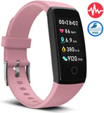 V10 Waterproof Pink Fitness Tracker