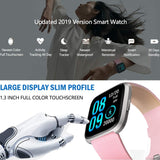 V12C Pink Waterproof SmartWatch