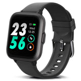 FITVII 18 Sports Mode Smart Watch with Blood Oxygen H-R Monitor, Sleep Tracker
