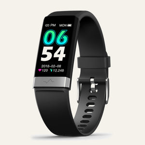V19 ECG Black Fitness Tracker