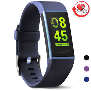 X-Core Waterproof Blue Fitness Tracker