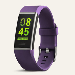 X-Core Waterproof Purple Fitness Tracker