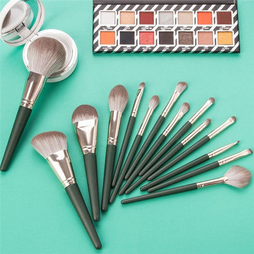 14pcs Soft Makeup Brushes Shadow Eyebrows Cosmetics Tool