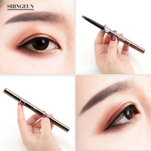 Load image into Gallery viewer, Eyebrow Pencil Double-Head, Waterproof Smudge-proof Brow Pencil with Brow Brush, 5 Colors Automatic Eye Brow Makeup by Nissi