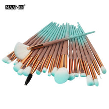 Load image into Gallery viewer, 20pcs/set Make Up Brush Set Professional The Most Comprehensive Professional Makeup Tools Portable Cosmetics Accessories