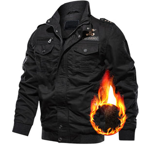 Men's Winter Thick Warm Casual Cotton Outwear Jacket Coats