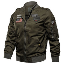Load image into Gallery viewer, Men Jacket Military Winter Autumn Jacket