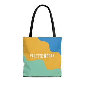 Palette Pot - Yellow Tote Bag