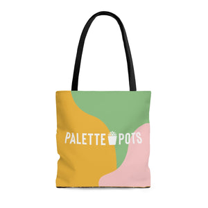 Palette Pot - Green Tote Bag