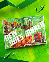 The Big Bold Book of MTN DEW® Recipes