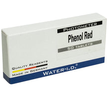 Phenol Red (PH) Messtabletten für Poollab