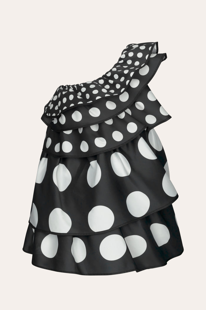 Stine Goya Glia Showpiece Dress Dress 1932 Dots Black