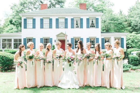 CHARLESTON WEDDING _ NATALIE DEAYALA _ BRIDESMAID DRESSES