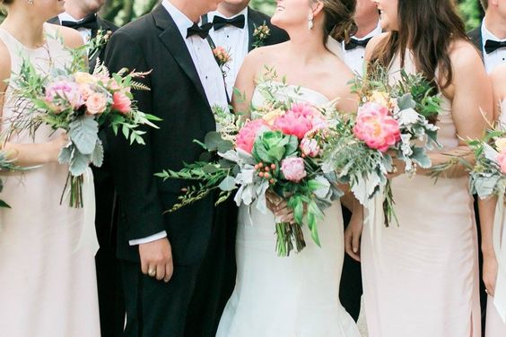 CHARLESTON WEDDING _ NATALIE DEAYALA BRIDESMAID DRESSES