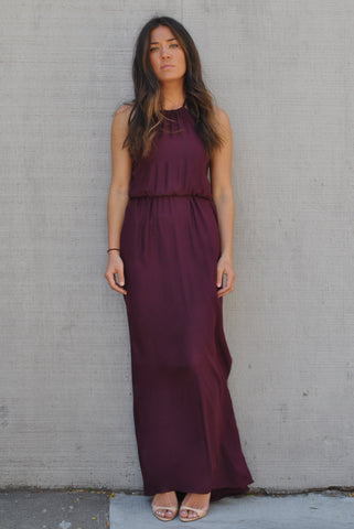 The Halter Cinch Gown