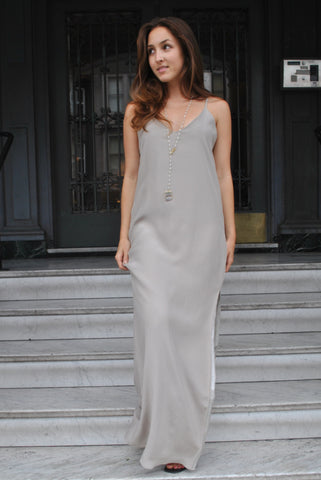 The V-Neck Slip Gown