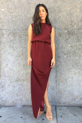 The Sleeveless Cinch Gown