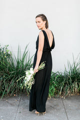 The Drape Back Gown