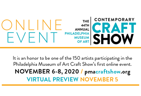 Philadelphia Museum of Art Craft Show Information banner