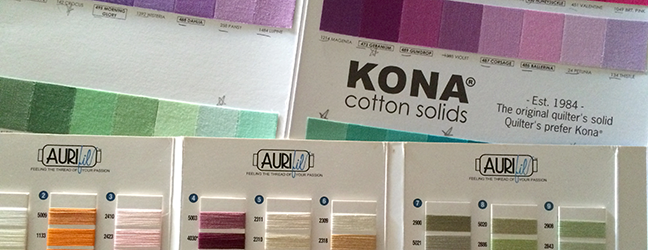 kona cotton solids now come in 303 colors so i thought it was about time to update the kona cotton to aurifil thread conversion chart that i put together - Aurifil Thread Color Chart