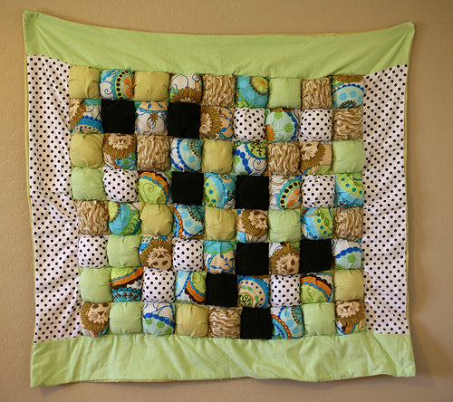 Puff the Lion Quilt